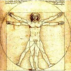 Da Vinci - Vitruviánsky muž