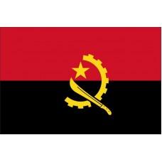 Magnetka vlajka Angola