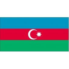 Magnetka vlajka Azerbajdžan