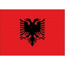 Magnetka vlajka Albánsko