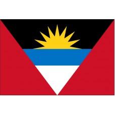 Magnetka vlajka Antigua a Barbuda