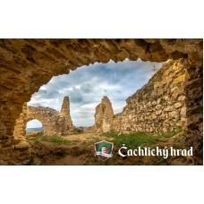Magnetka Čachtický hrad