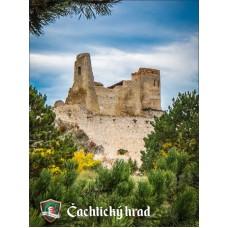 Magnetka Čachtický hrad II