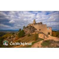 Magnetka Čachtický hrad III