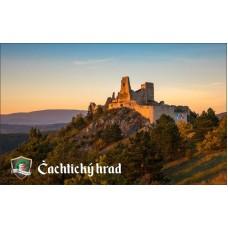 Magnetka Čachtický hrad IV