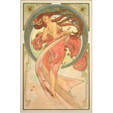 Magnetka Alfons Mucha - Tanec