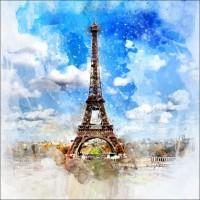 Magnetka Paríž - Eiffelova veža 4