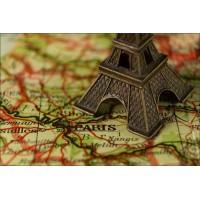Magnetka Paríž - mapa