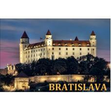 Magnetka Bratislavský hrad IV