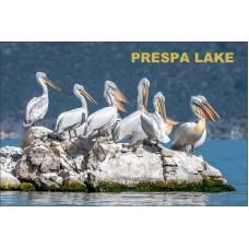 Magnetka Pelikány - Jazero Prespa