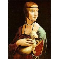 Magnetka Da Vinci - Dáma s hranostajom