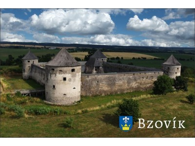 Magnetka Opevnený kláštor Bzovík