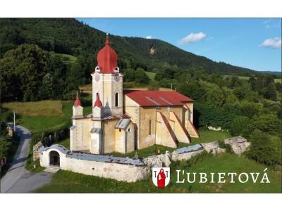 Magnetka Ľubietová - Kostol svätej Márie Magdalény